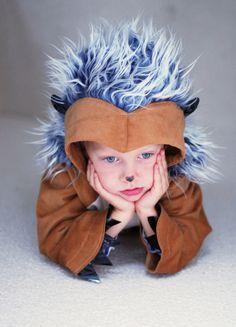 Igel - Kostüm für Kinder von 2-8 Jahren