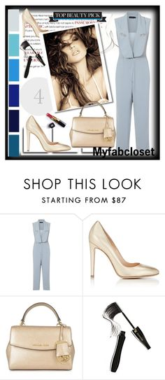 """Myfabcloset  5"" by ramiza-rotic ❤ liked on Polyvore featuring Gianvito Rossi, XOXO, MICHAEL Michael Kors, Chanel and Lancôme"