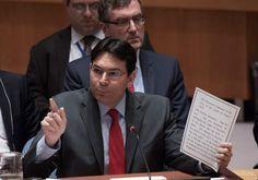 Embajador de Israel en la ONU exige condena de la Media Luna Roja Palestina
