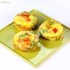 Egg Muffins by Clinton Kelly! #TheChew #Breakfast #Egg