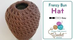 Crochet a Frenzy Bun Hat Pony tail hats, Messy Bun Hat, whatever you want to call them have been around