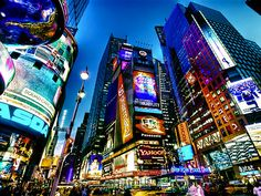 Times Square, NYC - one of our favorite family trips!