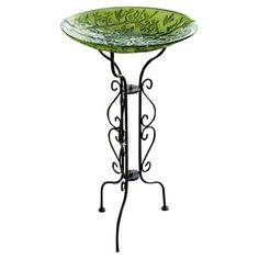 "Johanna Birdbath $22.50 Dimensions: 34"" H x 12.6"" Diameter Assembly:	Very Simple Assembly Required: <15 minutes with only screwdriver or included tools"