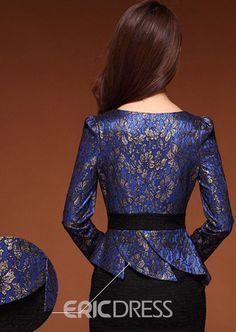 Elegant Blue Lace Sheath Dress African Attire, African Fashion Dresses, African Dress, Fashion Outfits, Myanmar Traditional Dress, Traditional Dresses, Lace Sheath Dress, Sheath Dresses, Vestidos Chiffon