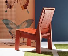 tutorial for 2x4 chair: http://www.readymade.com/projects/build_a_2x4_chair