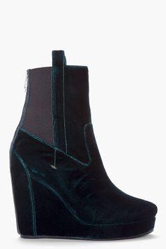 #ssense.com               #women boots              #Vanessa #Bruno #Emerald #Green #Velvet #Wedge #Boots #Women #SSENSE          Vanessa Bruno Emerald Green Velvet Wedge Boots for Women | SSENSE                                       http://www.seapai.com/product.aspx?PID=666606