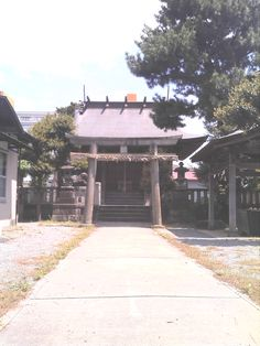 a Shinto shrine