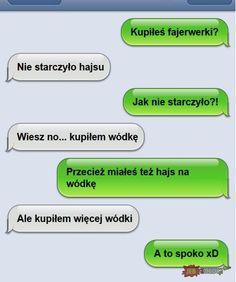 JBZD.pl - najgorsze obrazki w internecie! Cute Texts, Funny Texts, Cute Text Messages, Funny Sms, Im Depressed, Drama Film, Itachi, Best Memes, Haha