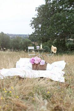 Find a quiet spot to lay your picnic. Hampstead Heath, Parliament Hill or Richmond Park.
