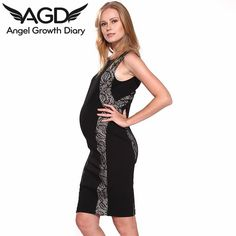 Find More Dresses Information about Spring Summer New Pregnant Woman Maternity Dress Clothing Clothes Temperament European Style Symmetrical Lace Pattern Dress,High Quality dress family,China dress a dress Suppliers, Cheap dress buyer from Angel Growth Diary on Aliexpress.com