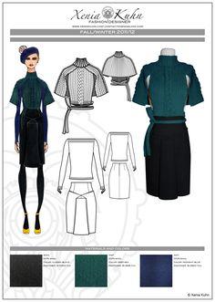 Ladieswear Design by Xenia K.- Fashion/Graphic Designer at Coroflot.com