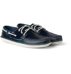QuoddyLeather Boat Shoes|MR PORTER