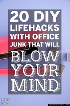 These office #lifehacks are mind-blowingly cool