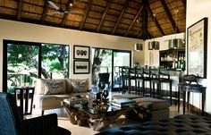 Ivory Lodge © Lion Sands Private Game Reserve. #travel #design #lodge #africa #safari #travelplusstyle