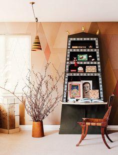 Decoração artística. Veja: http://www.casadevalentina.com.br/blog/detalhes/decoracao-artistica-3144 #decor #decoracao #interior #design #casa #home #house #idea #ideia #detalhes #details #style #estilo #casadevalentina