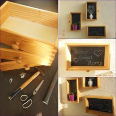 Półki z szuflad
