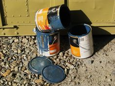 Painting Dilemma Solved: How To Store & Use Leftover Paint Disposing Of Paint, Fresco, Different Types Of Painting, Lead Paint, Paint Storage, Ideas Para Organizar, How To Protect Yourself, Paint Cans, Painting Tips
