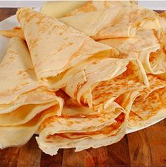 Learn how to make Perfect French Crepes - they may seem intimidating but they are easier that most would think. Blender does most of the job. *Amazon Affiliate Link* #recipe #breakfast #easy
