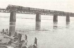 #Havelock Bridge on river #godavari connecting howrah and Madras
