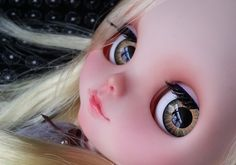 OOAK SA Hand-painted 12Blythe eyechips  G03 by SAEYECHIP on Etsy