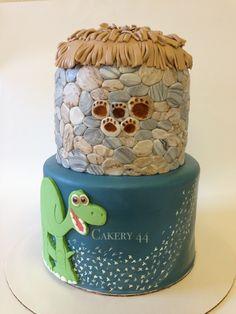 The Good Dinosaur cake by Cakery44