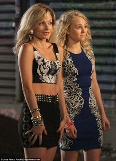 Man-eater! Lindsey Gorf was seen filming her first scenes as the notorious Samantha Jones in The Carrie Diaries on Thursday