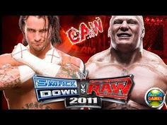 CM Punk vs Brock Lesnar Tribute SvR 2011 #CAW