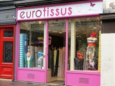 Eurotissus a ouvert une boutique au 28 boulevard du Temple (Paris 11ème / Métro: Filles du Calvaire /Tél: 09 84 38 73 80/ Ouvert du mardi au samedi de 10h00 à 13h00 et de 14h00 à 19h00. (les bonnes adresses de Miss T)