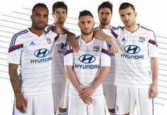 New Olympique Lyonnais 14-15 Kits Released