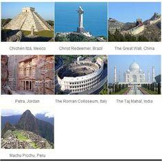 Bucket list: 7 Wonders of the World