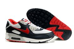 size 40 609dc 4e144 309299 400 Nike Air Max 90 Obsidian Sport Red White Neutral Grey AMFM0642  Wholesale Jordans,