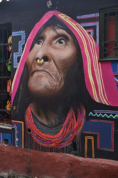 La Candelaria, Bogota, Colombia — by Earthseeing. Street art in La Candelaria area of Bogota. There are lots of street art in this area, be it murals, tags or...