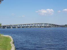 Memorial Bridge across the St. Johns River, Palatka, FL