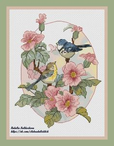 ru / Фото - 2007 A Womans World in Cross Stitch_Joan Elliott - Chispitas Old World Maps, Vintage World Maps, Cross Stitch Collection, Cross Stitch Patterns, Kids Rugs, Birds, Seasons, Embroidery, Sewing