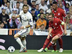 Blog Esportivo do Suíço: Bayern leva para a prorrogação, mas Cristiano Ronaldo resolve de novo e coloca o Real Madrid na semi
