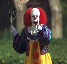 I like Clowns the best clown ever @Bethany Walton@Katie Waugh@Aepe Edwards@Lynn Bailey