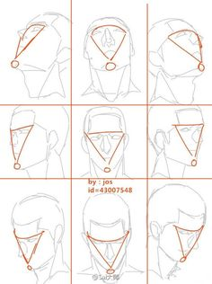 Face angles tips angles Anatomy Sketches, Anatomy Drawing, Anatomy Art, Head Anatomy, Anatomy Study, Drawing Heads, Body Drawing, Human Figure Drawing, Drawing Tips