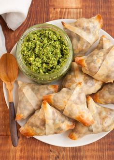 Recipe: Crispy Baked Samosas with Potatoes and Peas