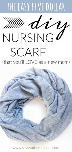 If you're a nursing or pumping mama, or plan to be soon, you need this easy DIY nursing scarf in your life Breastfeeding Scarf, Breastfeeding And Pumping, Nursing School Scholarships, Nursing Schools, Icu Nursing, Nursing Scarf, Diy Scarf, First Time Moms, Baby Hacks