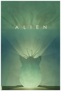 Minimalist Movie Posters: Alien