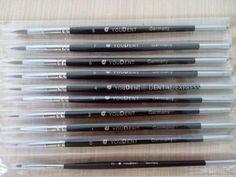 10pcs/set Dental Lab Porcelain Synthetic Brush Pen Set Tool Dental Lab Equipment #Shaind2014
