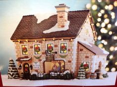 St. Nicholas Square Illuminated Berryhill Winery The Village Collection