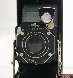 Vintage Eastman Kodak Junior Six-16 Model Series #1 Doublet Lens Folding Camera | Tamarack Shack Antiques