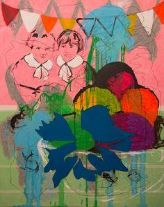 "Saatchi Art Artist: Ireneo Frizzarin; Acrylic 2014 Painting ""Fragmentation of memory 2"""
