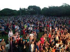The crowd ..Lovin' It