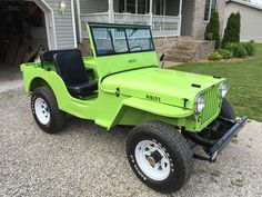 1948 Willys CJ-2A - Photo submitted by Jason Rutledge.