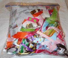 Bag of scrap ribbon https://www.facebook.com/photo.php?fbid=10152116013331917=oa.586568858053858=3