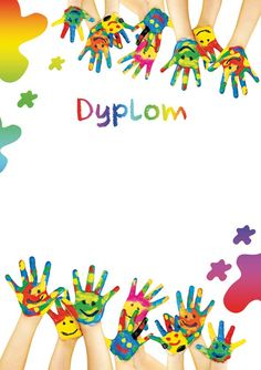 Dyplomy–podgląd Page Borders, Borders And Frames, Diy Crafts How To Make, Crafts For Kids, Happy Holi Images, School Border, Baby Photo Frames, Free Doodles, School Frame