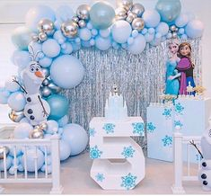 When you take to it's next level ❄️ ⛄️ Check out our link in bio to shop all frozen decorations for your party! Frozen Birthday Party, Frozen Birthday Decorations, Disney Frozen Party, Frozen Theme Party, 2nd Birthday Parties, Frozen Balloon Decorations, Frozen Centerpieces, Birthday Snacks, Birthday Kids