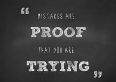 It's okay to make mistakes along the way! #WWloves